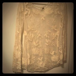 Antique looking lace shirt